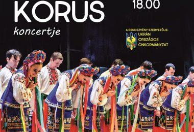 Verjovka Kórus koncertje