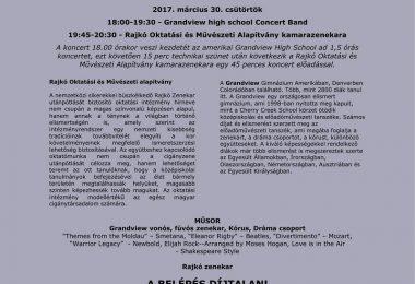 koncert plakát