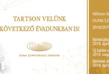 Duna Szimfonikus bérlet