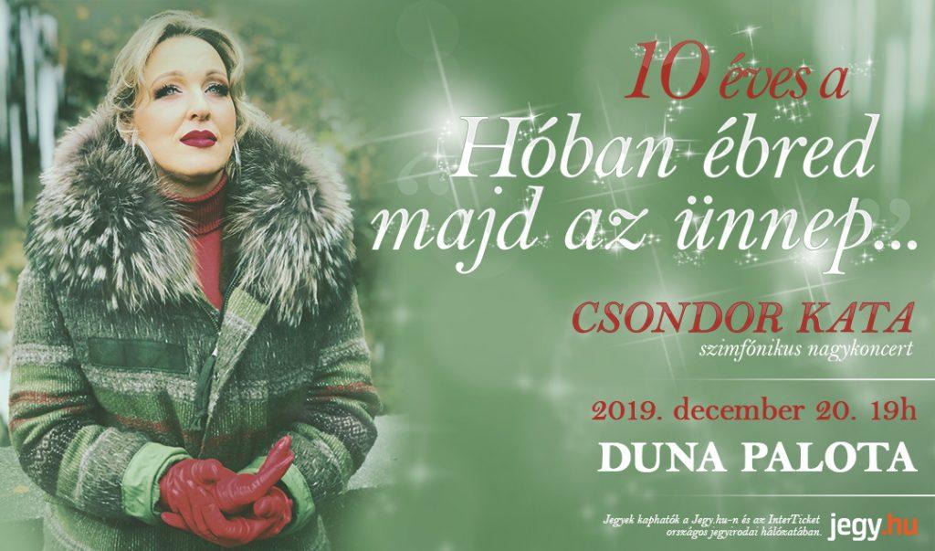 10 éves a Hóban ébred majd az ünnep... - Duna Palota